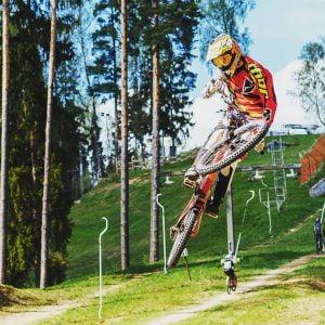 Down Hill Latvijā Mārtiņš Raimonds Baltgalvis sacensībās